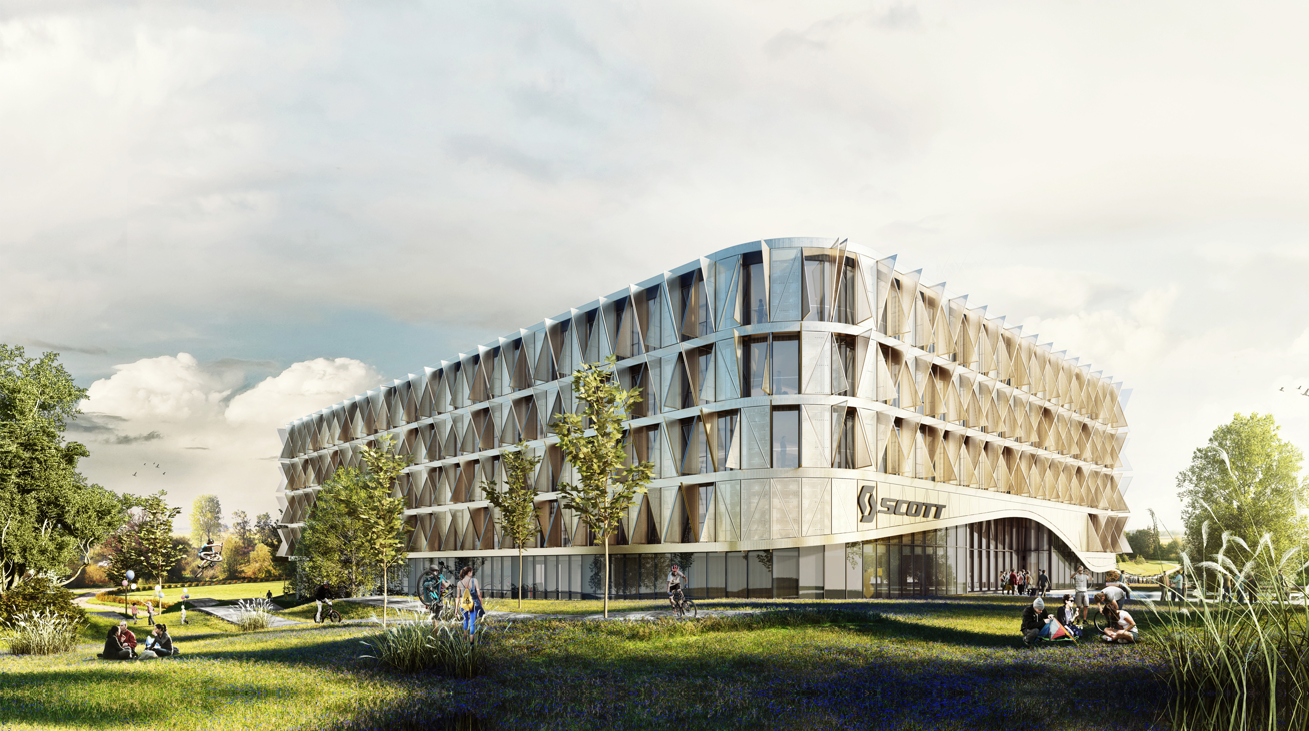 Das Scott Headquarter Von Ittenbrechbhl Vectorworks Electrical Plan